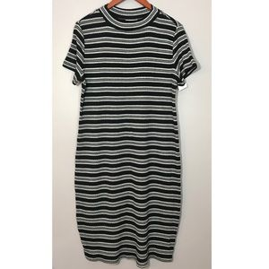 Liz Lange NEW Knit Maternity Dress Sz L